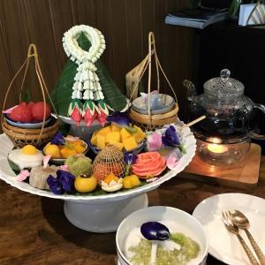 タイスイーツ満喫のアフタヌーンティ― @Cher Cheeva Thai Dessert Cafe