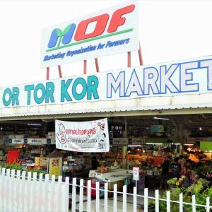 高品質食材の宝庫、オートーコー市場