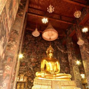 タイで最も美しい大仏様を訪ねて ワットスタットテープワララーム