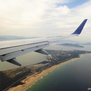 飛行機からの風景 ~伊丹-福岡編~