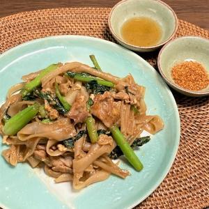 米麺が大活躍!なタイ料理        ~センミー・センレック・センヤイ~