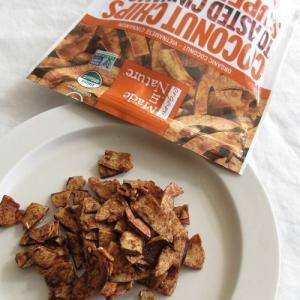 アイハーブで一番好きなお菓子を大人買い!【Made in Nature】オーガニックココナッツチップス トーストシナモン味