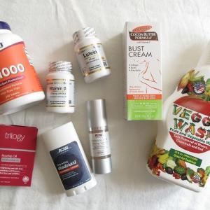 【iHerb*購入品紹介】サプリメント&スキンケア編。コロナ予防のビタミンC・ビタミンD、アイハーブで人気の美容液やデオドラントなど