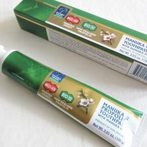 iHerb【Manuka Health】マヌカオイル配合「マヌカ&プロポリス歯磨き粉」切実にフッ素・フッ化物不使用品を使ってほしい理由。