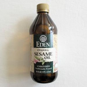 【iHerb】オーガニック エクストラヴァージン セサミオイル 「未精製の有機ごま油と、体に良い油・悪い油について」