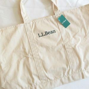 エコバッグ新調しました!L.L.Bean(エルエルビーン) グローサリートートと、出ました精神世界のコーナー