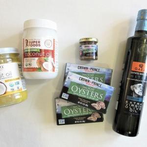 【iHerb*購入品紹介】調味料・食品編。バターフレーバーのココナッツオイル、大好きなスモーク牡蠣やアンチョビなど