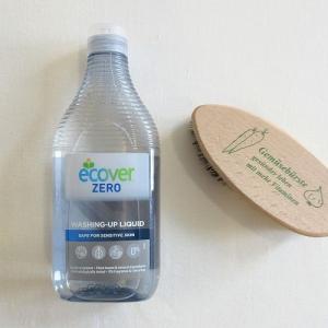やっぱりエコ洗剤はこれが一番かもしれないと再認識した「ecover エコベール 食器用洗剤」の使い心地が最高だった!