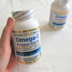 これだけは欠かさず何年も飲み続けている「オメガ3(EPA/DHA)フィッシュオイル サプリメント」
