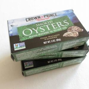 アイハーブで一番お気に入りの缶詰め「スモーク牡蠣のオリーブオイル漬け」が美味しすぎる!