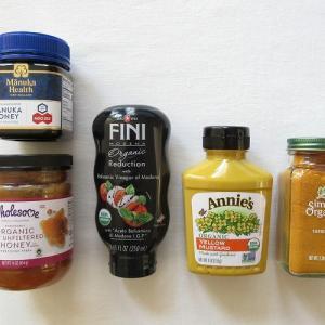 【iHerb*購入品紹介】ハチミツ・調味料編。マヌカハニーやバルサミコ酢、大好きなオーガニックイエローマスタードなど