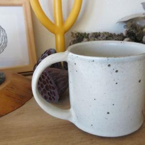 そろそろ寒い時期に備えて。数年欲しかったマグカップをラスイチでゲット出来た嬉しさたるや「北海道はもう秋です」