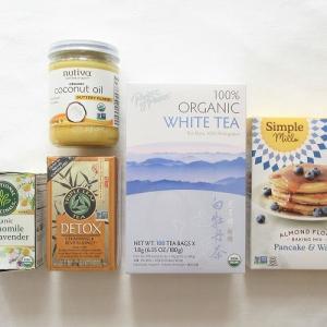 【iHerb*購入品紹介】食品・お茶編。有機白茶やデトックスハーブティー、即リピしたバターフレーバーのオーガニックココナッツオイルなど