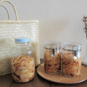 『季節の手仕事』無農薬オーガニック新生姜で、甘酢漬け・佃煮・紅しょうが・めんつゆ漬けを作りました。