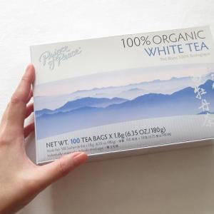 iHerb「とにかく美味しい中国茶!」100%オーガニック有機白茶は美肌・疲労回復・デトックスなど健康に良い効果たっぷり