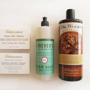 【iHerb*購入品紹介】洗剤・石鹸編。全身に使える万能なカスティール石鹸や、大好きなバジルの香りの食器用洗剤など