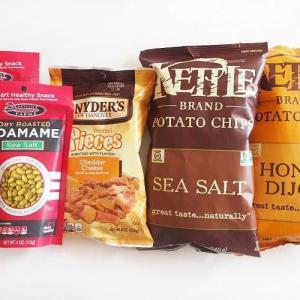 【iHerb*購入品紹介】お菓子編。ケトルのポテトチップスや、ドライロースト枝豆など