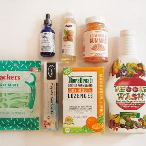 【iHerb*購入品紹介】オーラルケア・健康美容編。フッ素不使用の歯磨き粉やビタミンCのグミサプリなど