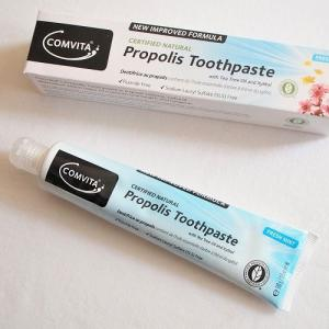iHerb【Comvita】また良いプロポリスの歯磨き粉を見つけてしまった。もちろんフッ素・フッ化物不使用で