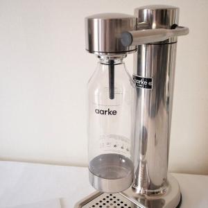 我が家に北欧スタイルのオシャレな炭酸水メーカーがやってきた!「aarke(アールケ)CARBONATOR2」