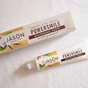 最近のお気に入り「ワタシ的、美味しくて歯磨きしたくなる歯磨き粉」ジェイソンのバニラペパーミント味
