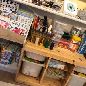 知育玩具の収納
