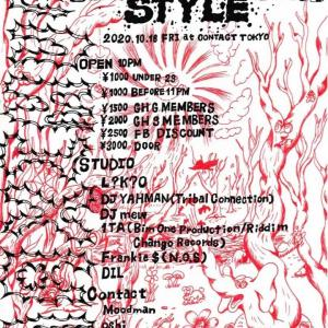 MAXIMUM STYLE @ContactTokyo 2020/10/16 (Fri)