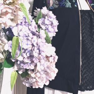 Black flower tulle lace blouson