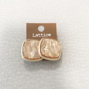 【lattice】330円のイヤリング