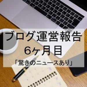 【ブログ運営報告】6か月目のブログ運営を公開します