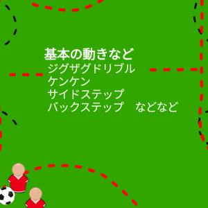 2019.12.22 練習 ドリブルとシュート(片足立ちチャレンジ)