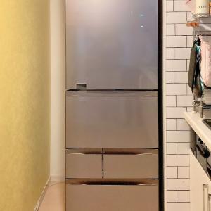 冷蔵庫と隙間と運勢。