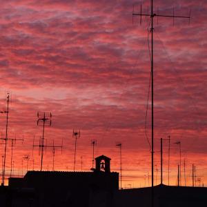 プーリアの空模様/ 家のテラスから ~il cielo in Puglia