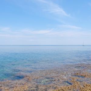 San Vito( ポリニャーノ)の海