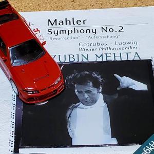 今日聴いたCD マーラー 交響曲第2番 復活 メータ その518