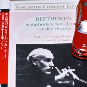 今日聴いたCD ベートーヴェンの 交響曲第1番 第3番 英雄 トスカニーニ その519