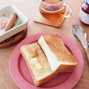 簡単♪トースト朝ごはん