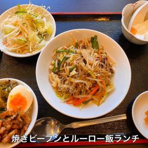 蒲田の台湾菜館弘城で台湾風ランチ