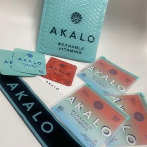 快眠には #貼るビタミン #AKALO #先行販売 #日本未発売