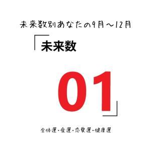【数秘術でみる9月~12月運勢】未来数1の人【スピリチュアルメッセージ】