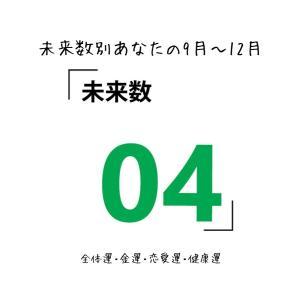 【数秘術でみる9月~12月運勢】未来数4の人【スピリチュアルメッセージ】