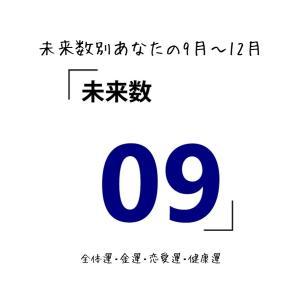 【数秘術でみる9月~12月運勢】未来数9の人【スピリチュアルメッセージ】
