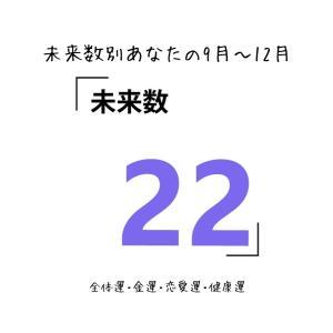 【数秘術でみる9月~12月運勢】未来数22の人【スピリチュアルメッセージ】