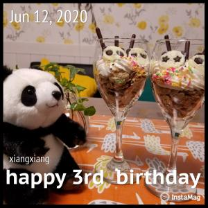 3歳のお誕生日おめでとう!