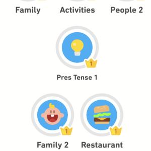 フランス語ゲームアプリで遊ぶー!