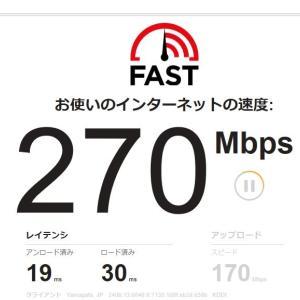 Wi-Fiルーター検討中。IPv6 High speedって。