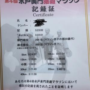 水戸黄門漫遊マラソン当日@マメに泣く