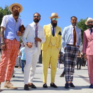 夏の大人のメンズファッション