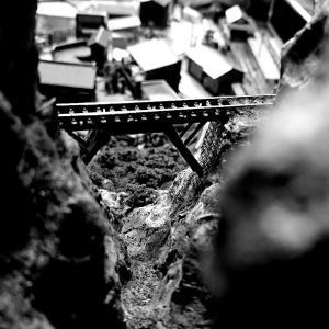Nナローの山岳部分の作成