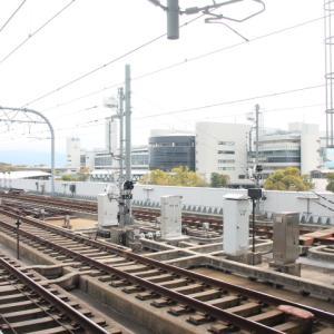京阪電鉄 淀駅にて